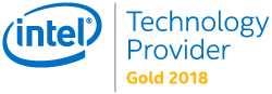 Intel Gold 2018 logo