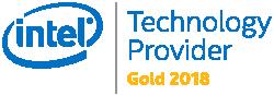 Intel Gold 2018 logo