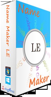 Name Maker LE Box